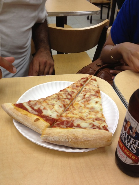 The cheap and greasy NYC pizza adventure