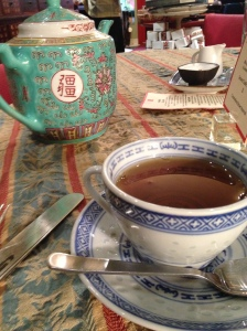 Pots of tea for you and me!