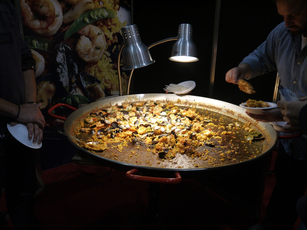 Patria paella.  You will haunt my dreams.