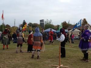 Ye Olde Pumpkinfest Fight