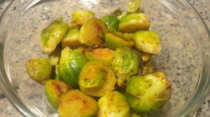 Walker's Spicy Brussels Sprouts
