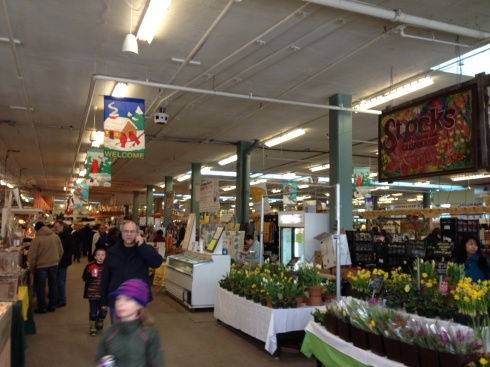 Inside the Old Strathcona Farmer's Market