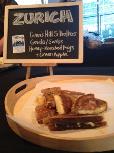 Were you left empty handed at Grilled Cheese Fest TO? Go take advantage of CHEESEWERK's offer and try the ZURICH.