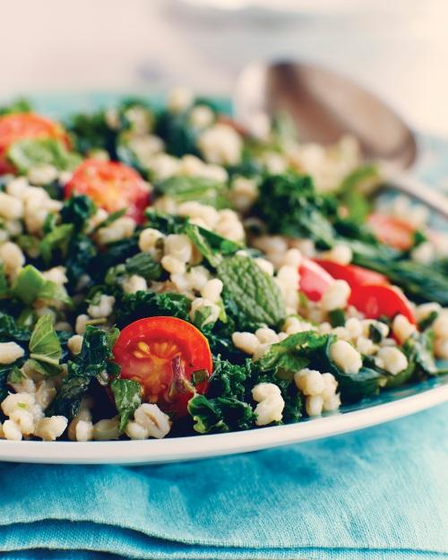 Barley Kale Tabouleh