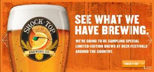 From Shock Top's website